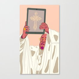 Mobible Pope Canvas Print