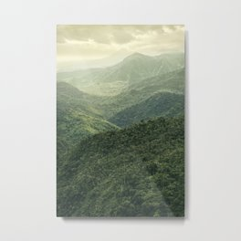 Mists Have Risen Metal Print