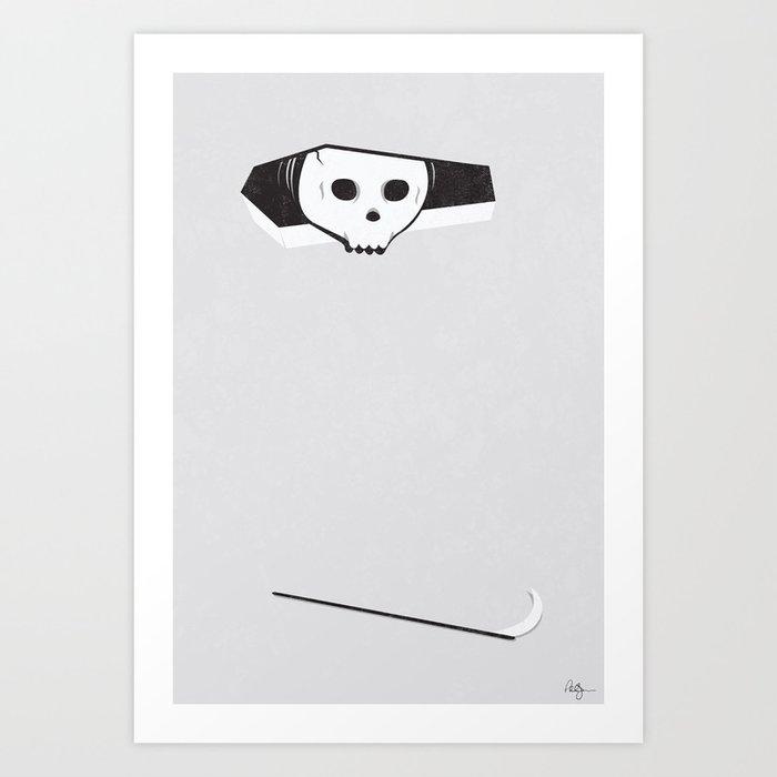 Ceiling Death Art Print
