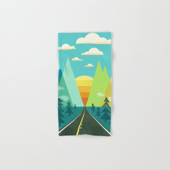 the Long Road Hand & Bath Towel