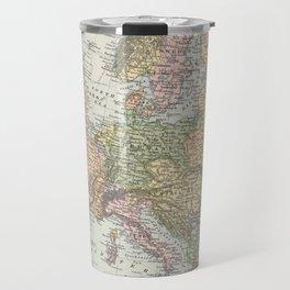 Vintage Map of Europe (1892) Travel Mug