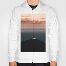 Lonely House by the Sea during Sunset - Landscape Photography Hoody