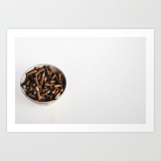21st century breakfast Art Print
