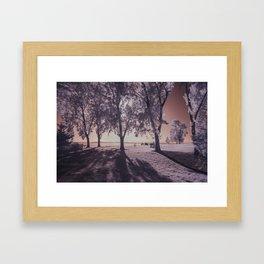 Myrtle Edwards Infrared Framed Art Print