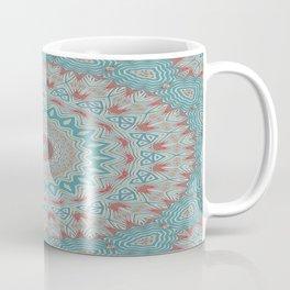 Tribal Medallion Teal Coffee Mug