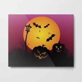 Spooky Halloween 6 Metal Print