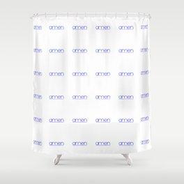 amen 2 Shower Curtain