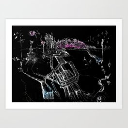 London Soho Art Print