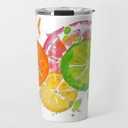 Citrus Burst! Travel Mug