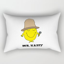 Mr. Happy Rectangular Pillow