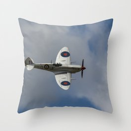 The Fly Past Throw Pillow
