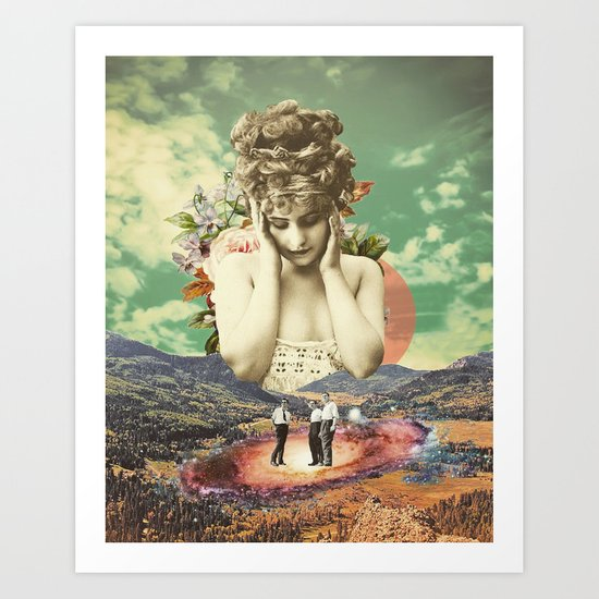 In the Valley Art Print