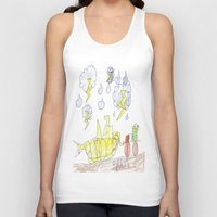percy jackson Tank Tops featuring Byron Rescues Percy by Ryan van Gogh