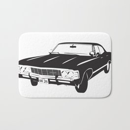 Supernatural Chevrolet Impala 67' Bath Mat
