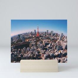 Tokyo Skyline Mini Art Print