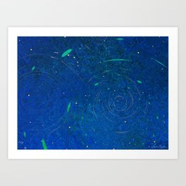 Satellites Art Print