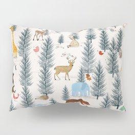 little nature woodland Pillow Sham