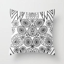 Sacred Trifecta Throw Pillow
