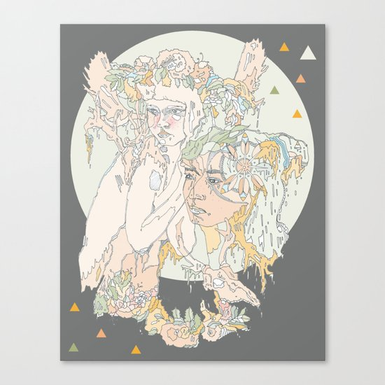 adorned pop Canvas Print