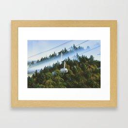 Iconiscope - Tram Framed Art Print