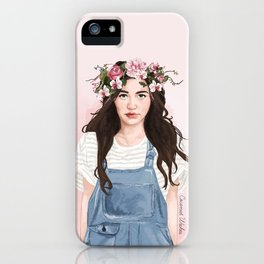 Floral Eleanor iPhone Case