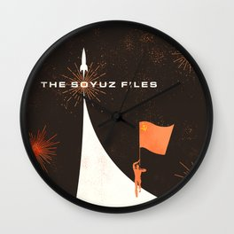 The Soyuz Files Wall Clock
