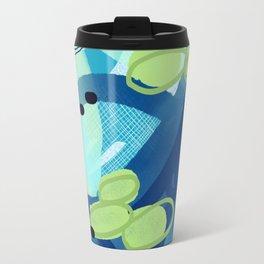 Abstract Oceana Travel Mug