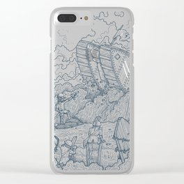 The Trench Clear iPhone Case