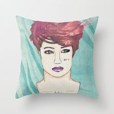Exo Kai Throw Pillow