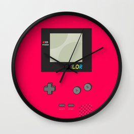 Game Boy Color  Wall Clock