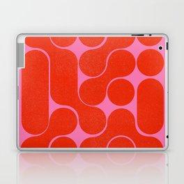 Abstract mid-century shapes no 6 Laptop & iPad Skin