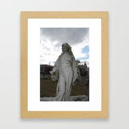 Augusta Bitner Grave Framed Art Print
