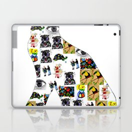 The Meow In A Collage Laptop & iPad Skin