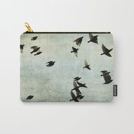 Birds Let's fly Carry-All Pouch