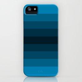 Blue Gradient iPhone Case