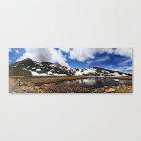 chris evans Canvas Prints featuring Mt. Evans, Colorado by Chris Root
