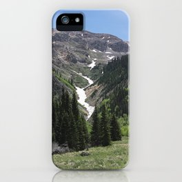 Valley Mountains iPhone Case