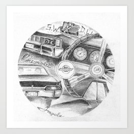 Impala Art Print