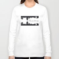 rome Long Sleeve T-shirts featuring Rome by BNK Design