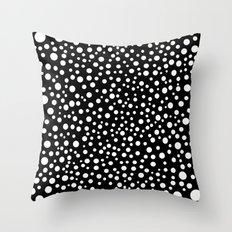 Polka Lunar Throw Pillow