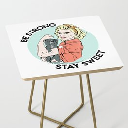 Pitbull Strong Pin Up Side Table