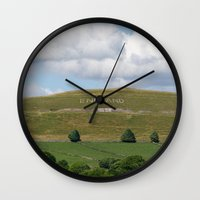 england Wall Clocks featuring England by PICSL8