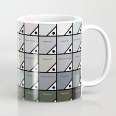 50 Shades Of Pantone Grey Mug