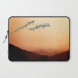 Fly in my beautiful balloons Laptop Sleeve