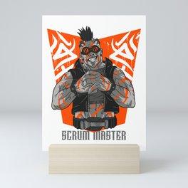 Cool Scrum Master Mini Art Print