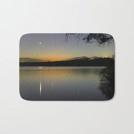 Planetary conjunction, reflections at the lake Mercury and Venus  Bath Mat