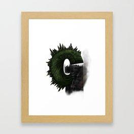 Geek letter G Framed Art Print