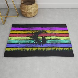 Owl Colors Rug