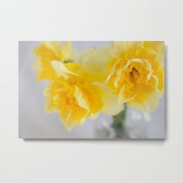 Spring Greeting Metal Print