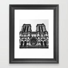Norte dame Framed Art Print